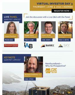 Virtual Investor Webinar: Newfoundland Gold Alliance
